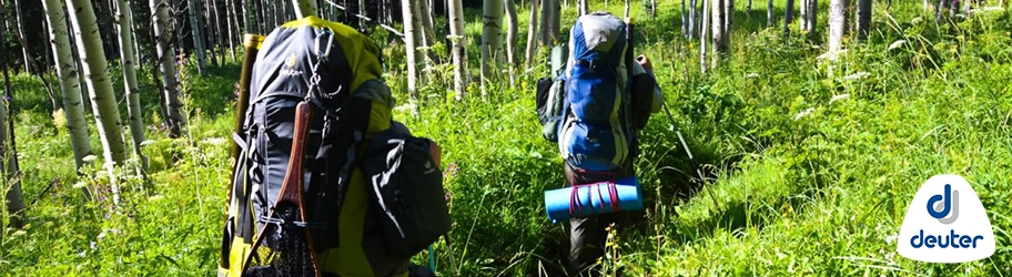 Deuter hiking rugzakken